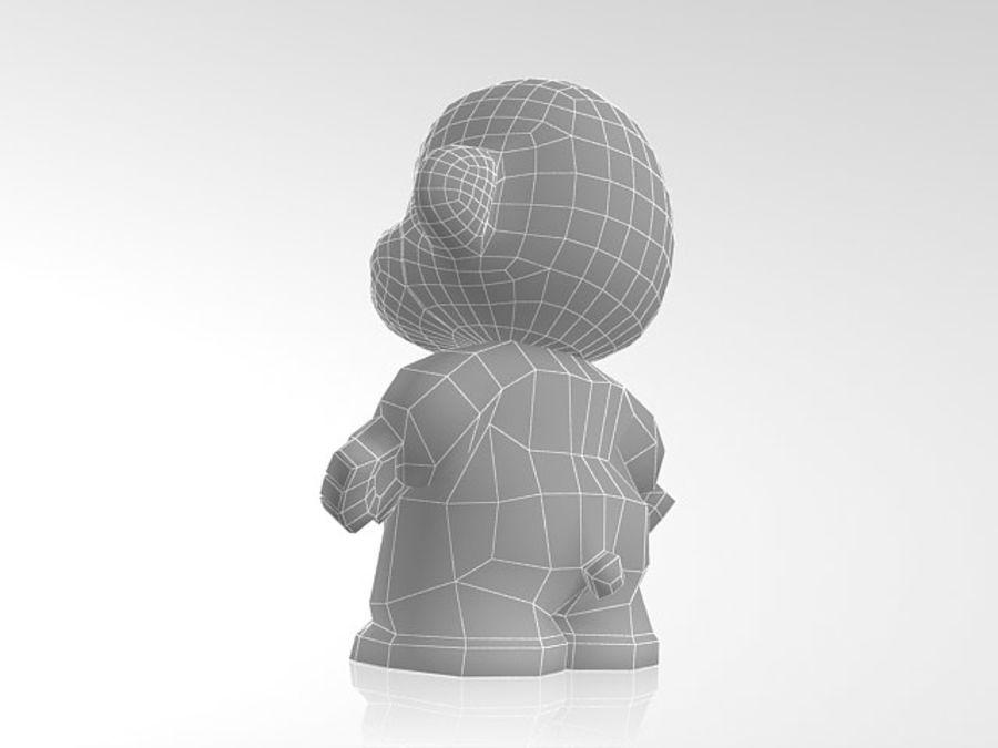 2016 년 원숭이 royalty-free 3d model - Preview no. 6
