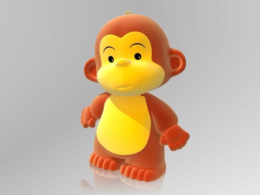 2016 년 원숭이 royalty-free 3d model - Preview no. 2
