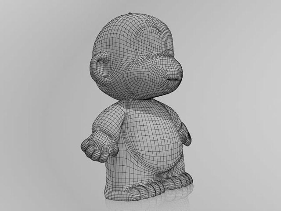 2016 년 원숭이 royalty-free 3d model - Preview no. 7
