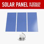 태양 패널 (1) 3d model