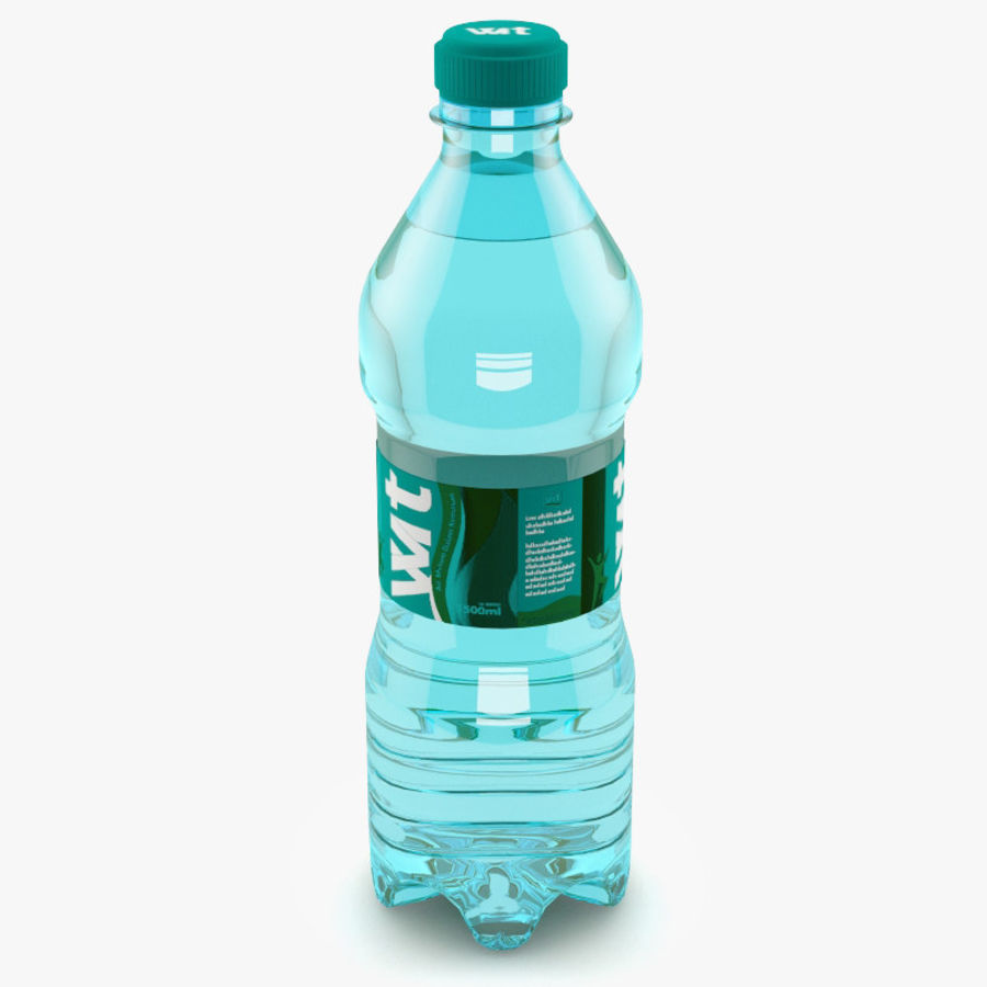 Water Bottle royalty-free 3d model - Preview no. 1