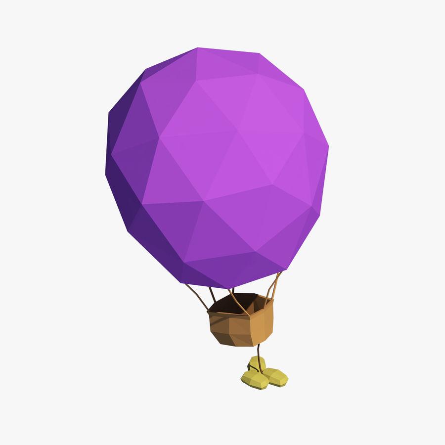 Cartoon luchtballon royalty-free 3d model - Preview no. 1