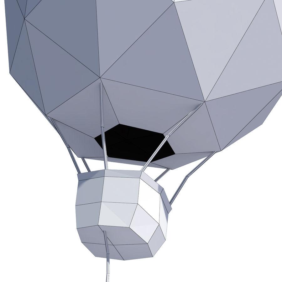 Cartoon luchtballon royalty-free 3d model - Preview no. 12