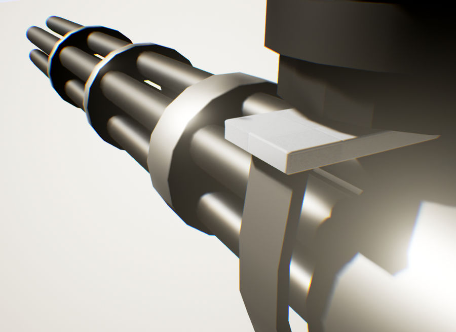 Robot Mech Machine royalty-free 3d model - Preview no. 5