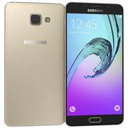 Samsung Galaxy A7 (2016) Oro 3d model