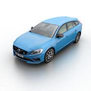 Volvo V60 Polestar 2015 3d model