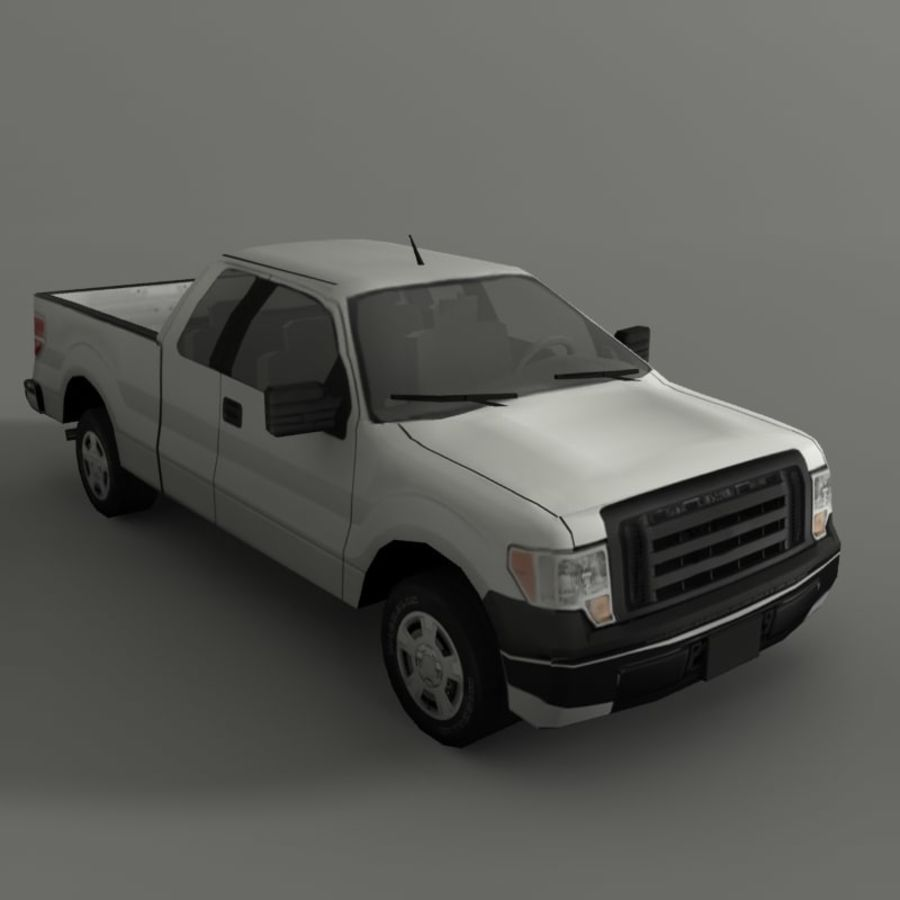 Пикап royalty-free 3d model - Preview no. 1