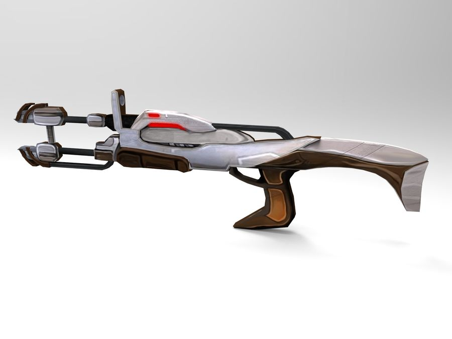 arme moderne royalty-free 3d model - Preview no. 27