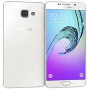 三星Galaxy A7(2016)白色 3d model