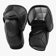 Protège-coudes de hockey 3d model