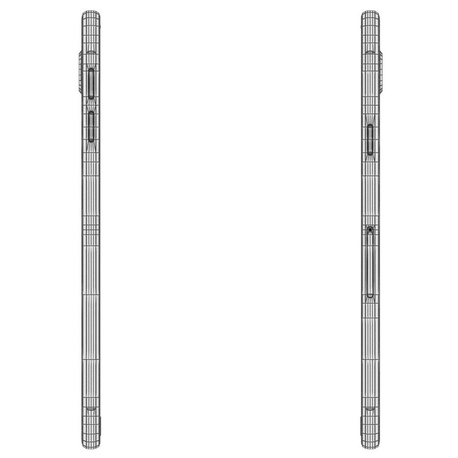 Samsung Galaxy A5 (2016) Svart royalty-free 3d model - Preview no. 29
