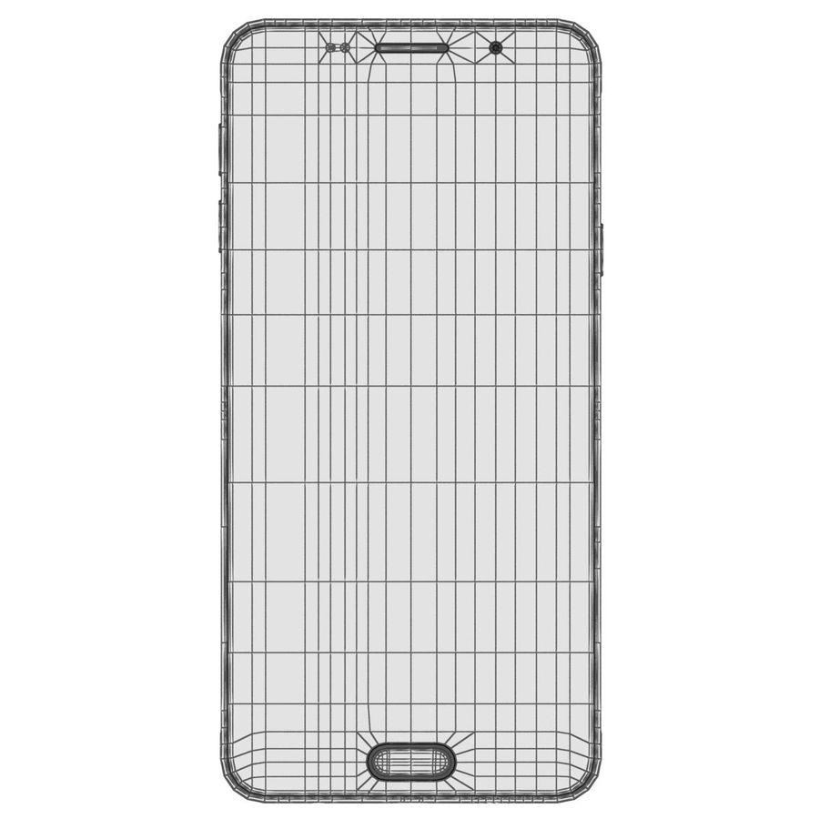 Samsung Galaxy A5 (2016) Svart royalty-free 3d model - Preview no. 27