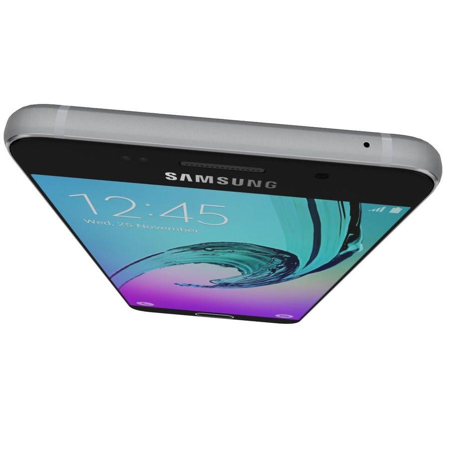 Samsung Galaxy A5 (2016) Svart royalty-free 3d model - Preview no. 11