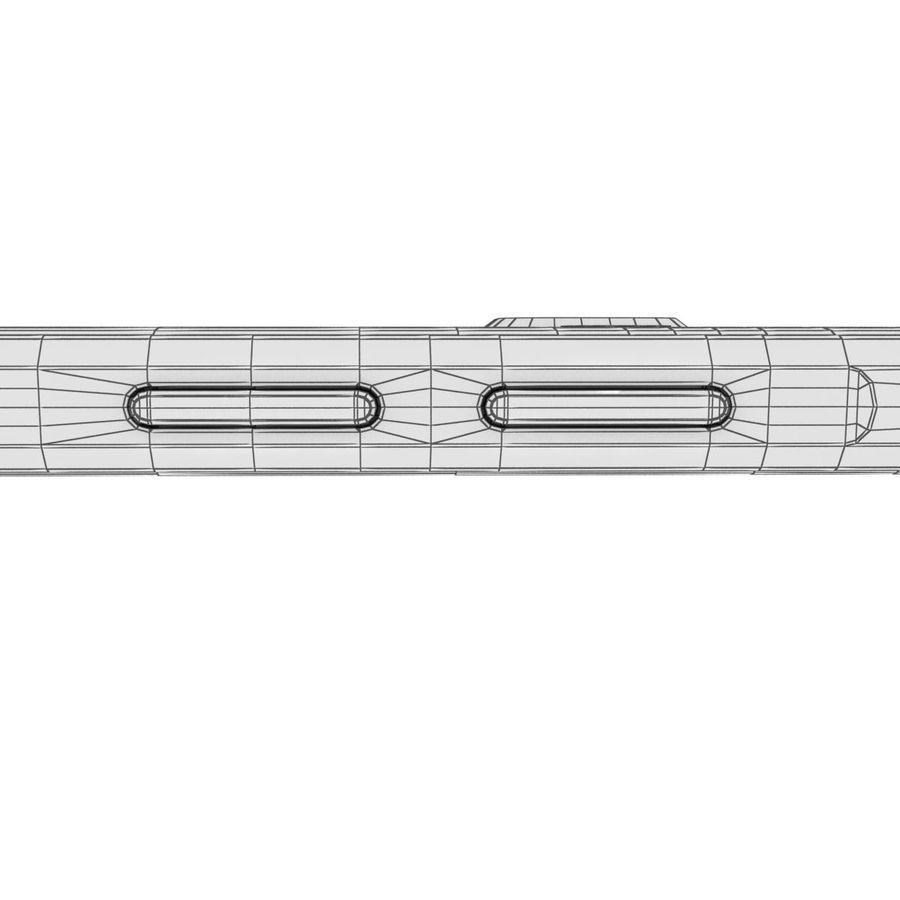 Samsung Galaxy A5 (2016) Svart royalty-free 3d model - Preview no. 39