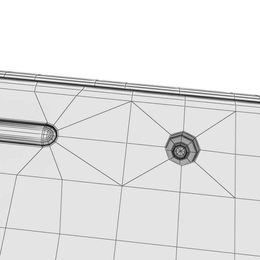 Samsung Galaxy A5 (2016) Svart royalty-free 3d model - Preview no. 36