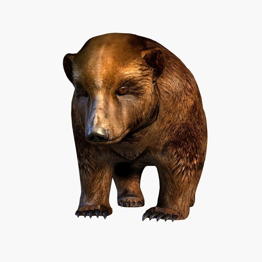Bear royalty-free 3d model - Preview no. 7