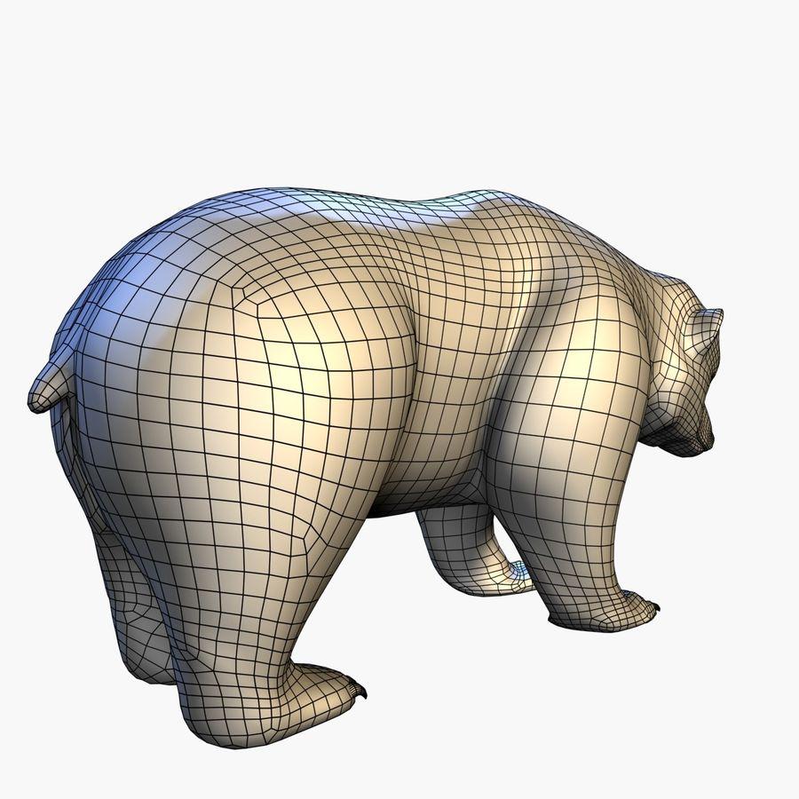 Bear royalty-free 3d model - Preview no. 10