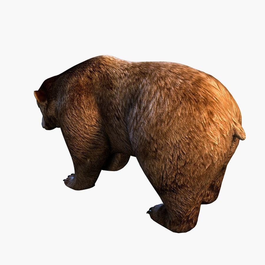 Bear royalty-free 3d model - Preview no. 3