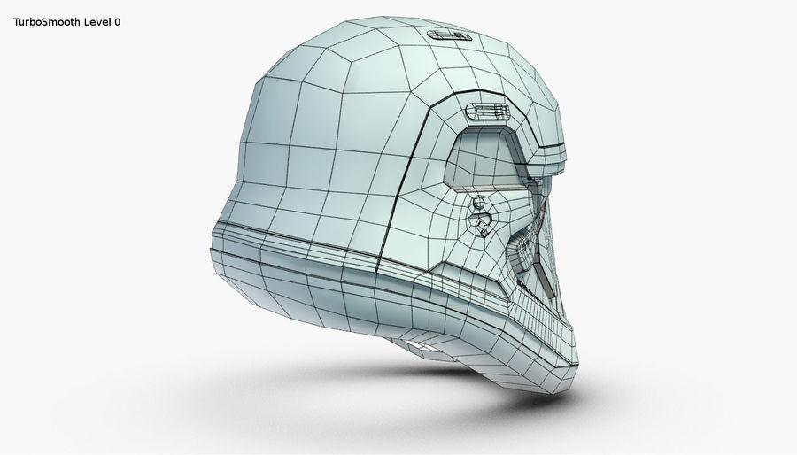 Stormtrooper New Order Helmet royalty-free 3d model - Preview no. 21