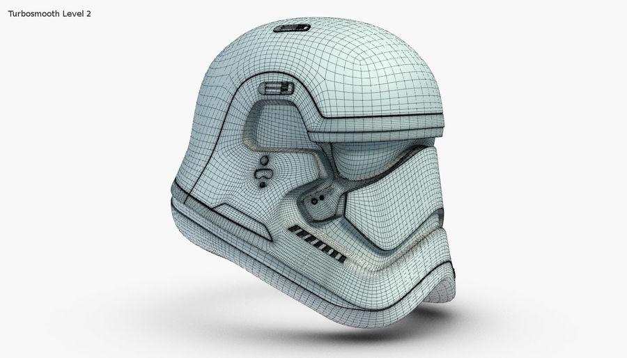 Stormtrooper New Order Helmet royalty-free 3d model - Preview no. 13