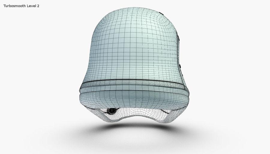 Stormtrooper New Order Helmet royalty-free 3d model - Preview no. 15