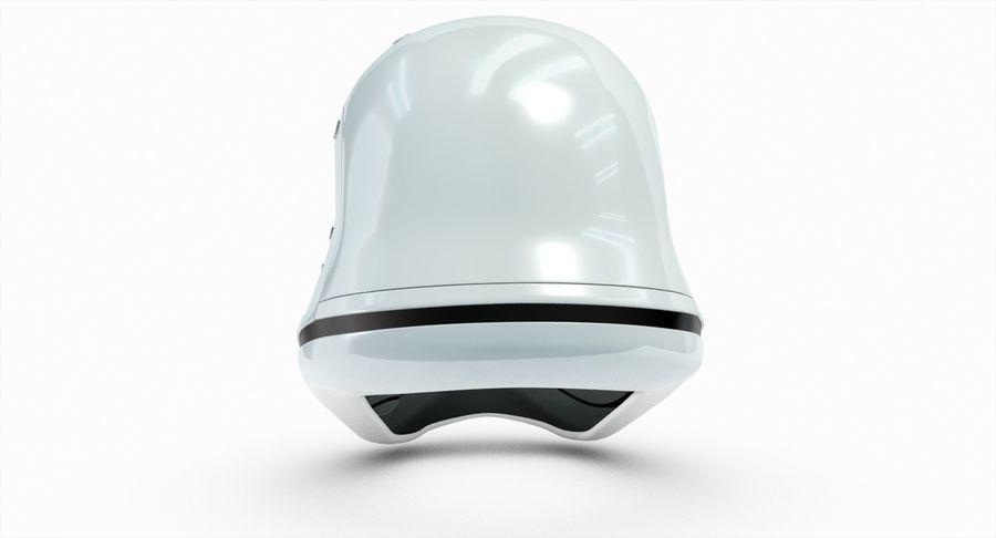 Stormtrooper New Order Helmet royalty-free 3d model - Preview no. 7