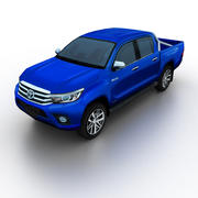 Toyota Hilux 2016 3d model