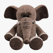 Plush Toy Elephant 3d model