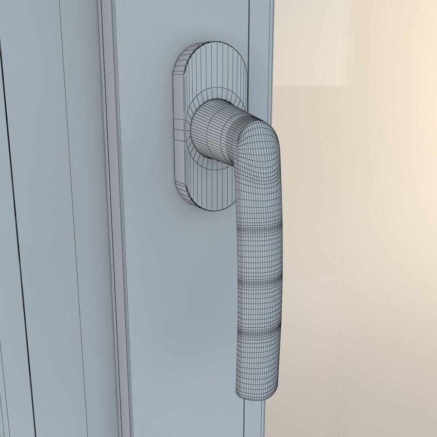 Fenêtre Plastique PVC royalty-free 3d model - Preview no. 20