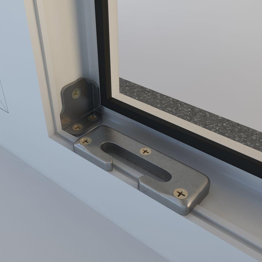 Fenêtre Plastique PVC royalty-free 3d model - Preview no. 8