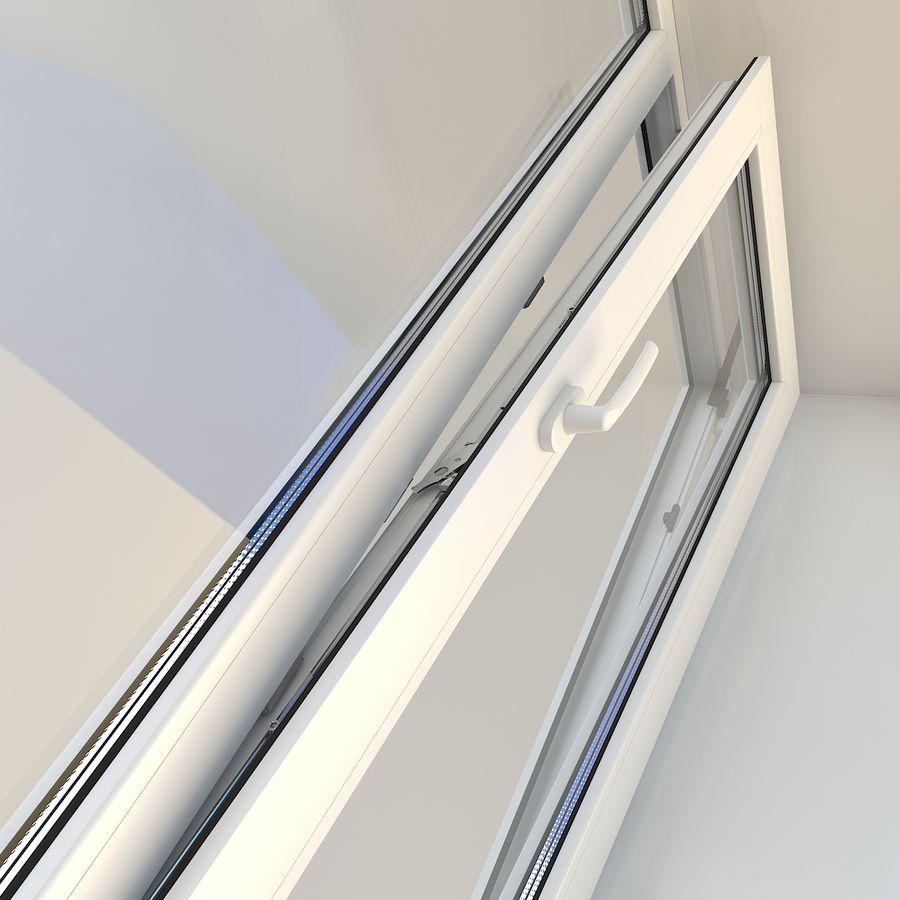 Fenêtre Plastique PVC royalty-free 3d model - Preview no. 4