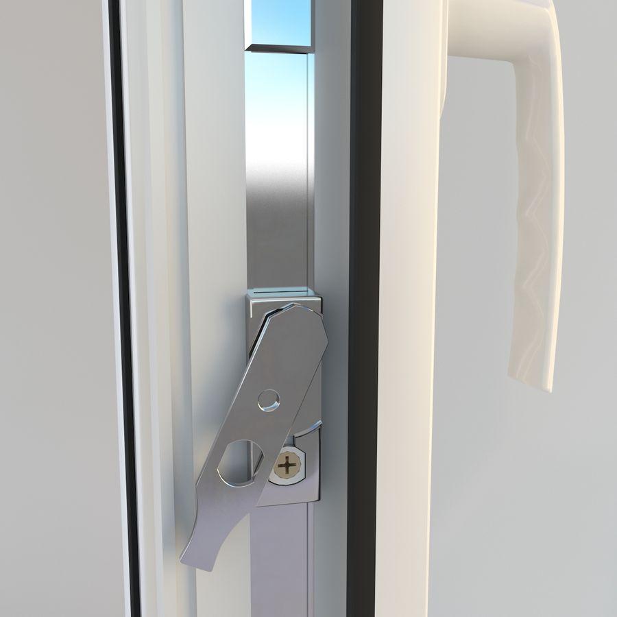 Fenêtre Plastique PVC royalty-free 3d model - Preview no. 11