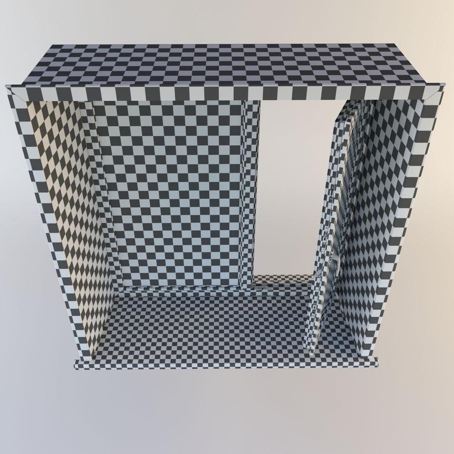 Fenêtre Plastique PVC royalty-free 3d model - Preview no. 15