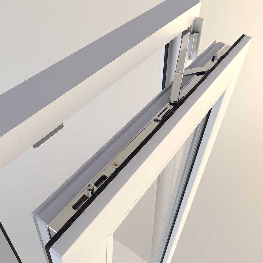 Fenêtre Plastique PVC royalty-free 3d model - Preview no. 5