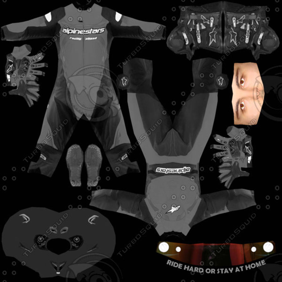 MV Agusta F3 2012 royalty-free 3d model - Preview no. 10