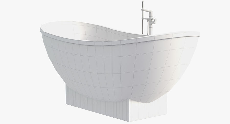Villeroy & Boch My Nature Duo royalty-free 3d model - Preview no. 8