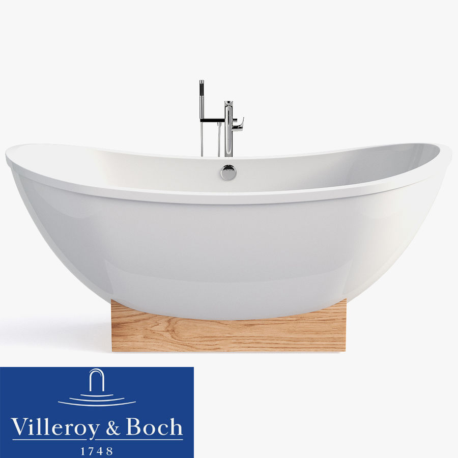 Villeroy & Boch My Nature Duo royalty-free 3d model - Preview no. 1