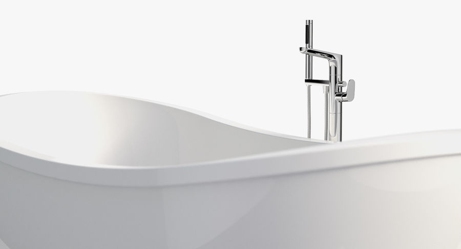 Villeroy & Boch My Nature Duo royalty-free 3d model - Preview no. 4