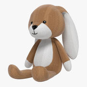 Hase Stofftier 3d model