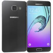 Samsung Galaxy A3 (2016) Black 3d model