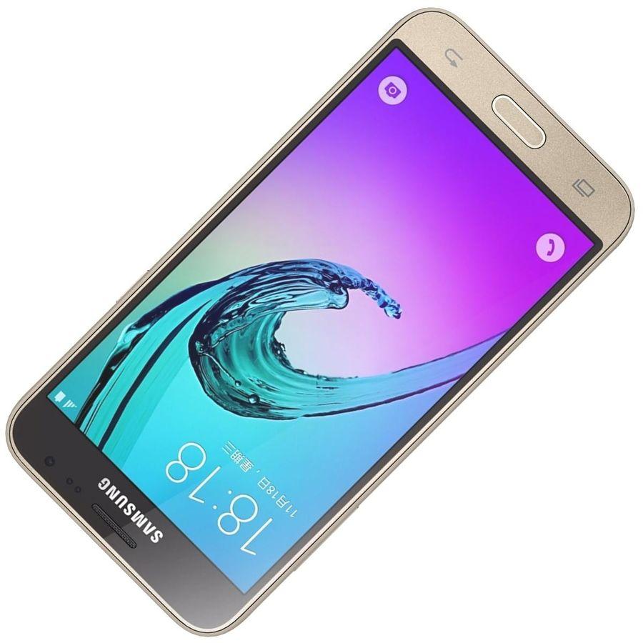 三星Galaxy J3 Gold royalty-free 3d model - Preview no. 22