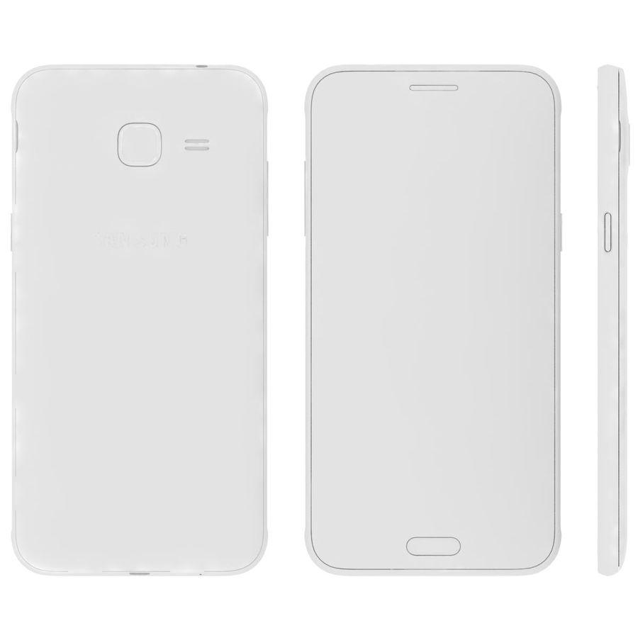 三星Galaxy J3 Gold royalty-free 3d model - Preview no. 19