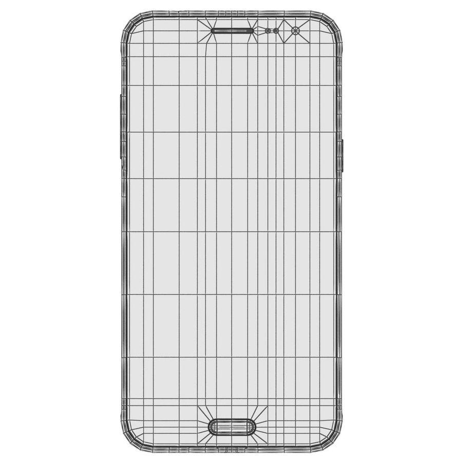 三星Galaxy J3 Gold royalty-free 3d model - Preview no. 21