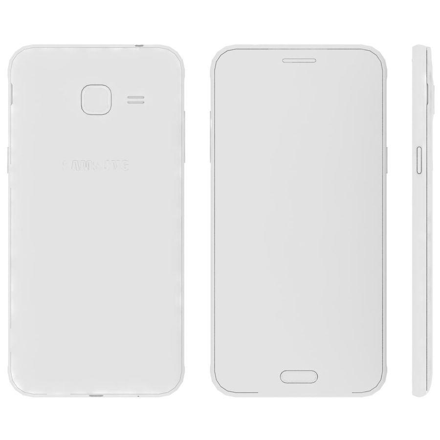三星Galaxy J3 Gold royalty-free 3d model - Preview no. 15