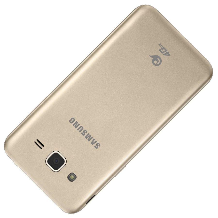 三星Galaxy J3 Gold royalty-free 3d model - Preview no. 30
