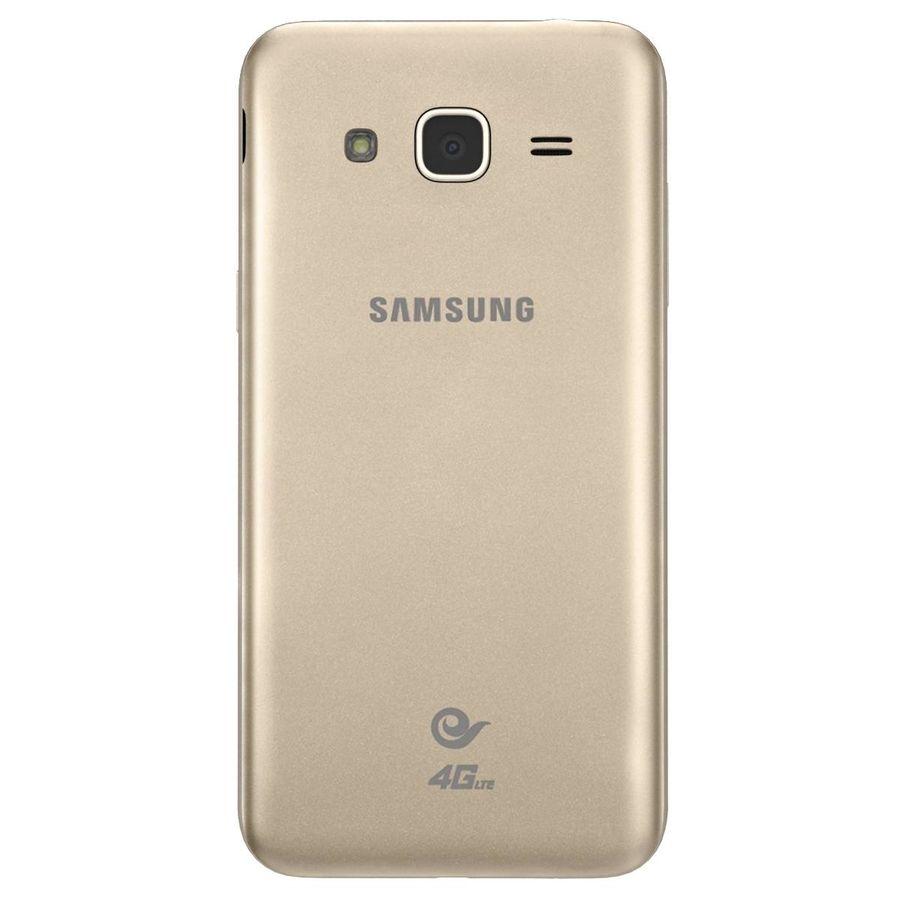 三星Galaxy J3 Gold royalty-free 3d model - Preview no. 7