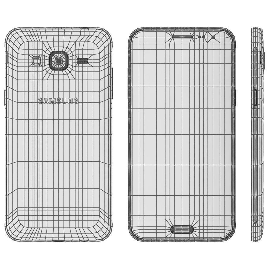三星Galaxy J3 Gold royalty-free 3d model - Preview no. 13