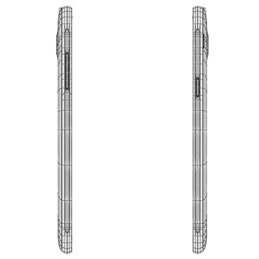 三星Galaxy J3 Gold royalty-free 3d model - Preview no. 25