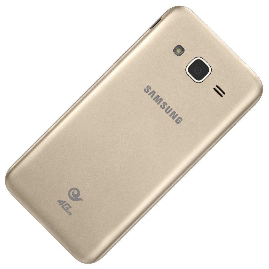 三星Galaxy J3 Gold royalty-free 3d model - Preview no. 26