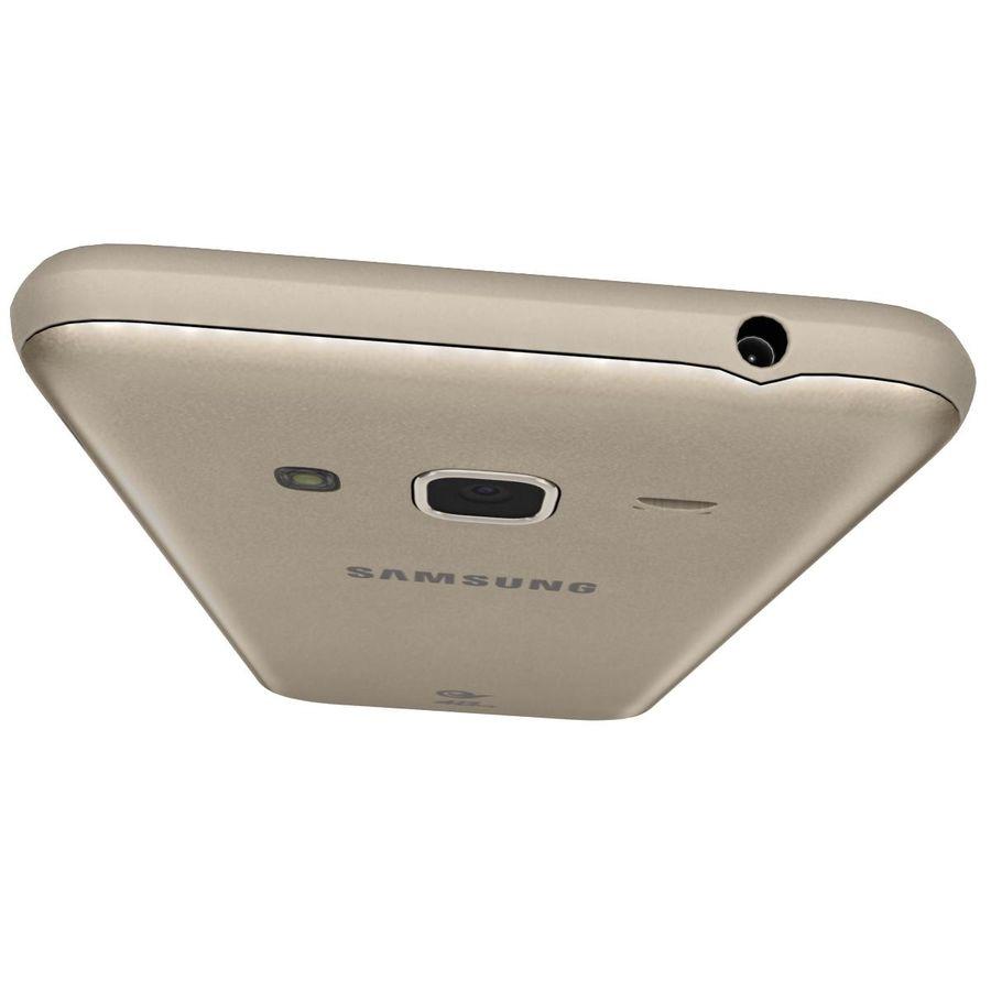 三星Galaxy J3 Gold royalty-free 3d model - Preview no. 11